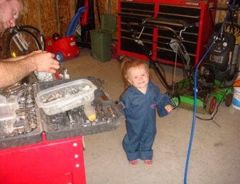 la petite mécanicienne