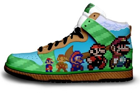 Gambar : Nike-shoes-design-mario