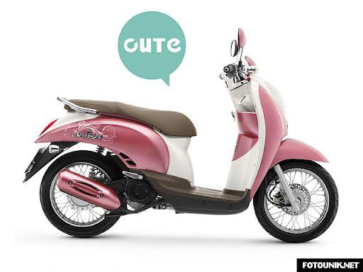 21 Foto Modifikasi Motor Honda Scoopy   Honda Scoopy Spesifikasi & Harga