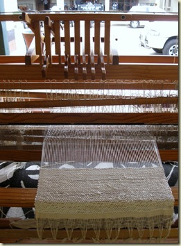 Weaving loom Africa Silks Graskop Mpumalanga South Africa