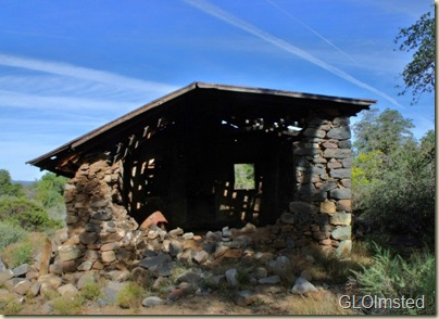 Ruins of all-in-one post office, church & community  building until early 1900s Placerita Arizona