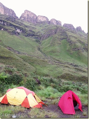 Keith Bush Camp below Drakensburg KwaZulu-Natal South Africa