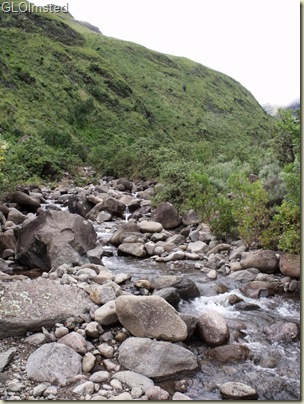 Creek crossing Drakensburg hike KwaZulu-Natal South Africa