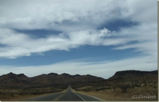 Hwy 118 North towards Fort Davis Texas