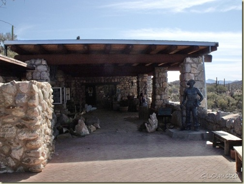 Visitor Center Colossal Cave Mountain Park Vail Arizona