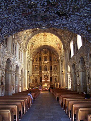 Interior de la Iglesia de Sto Domingo