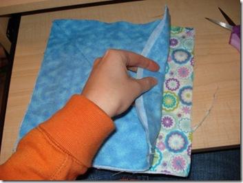 rag quilt fabric