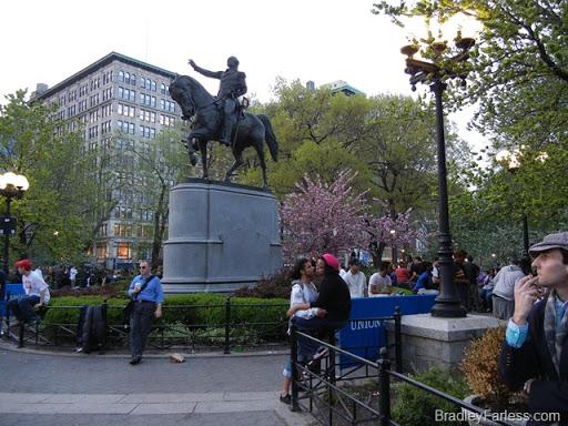 Union Square Park in Manhattan, New York City.