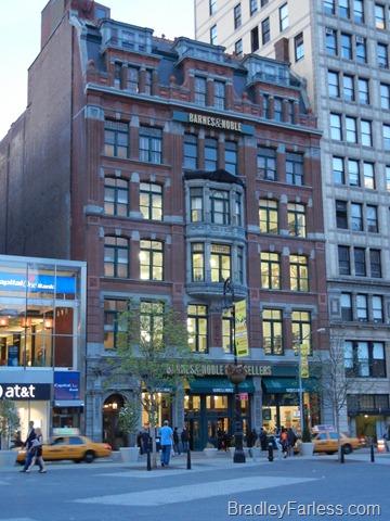 Barnes & Noble at Union Square, Manhattan, New York City.