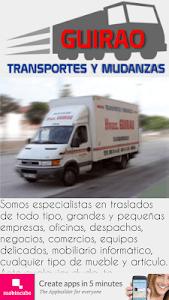 Mudanzas Guirao screenshot 2