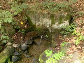 Izvor preko potoka