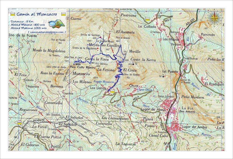 Ruta del Monsacro - Morcin