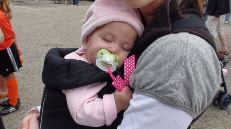 Hannah was worn out!
