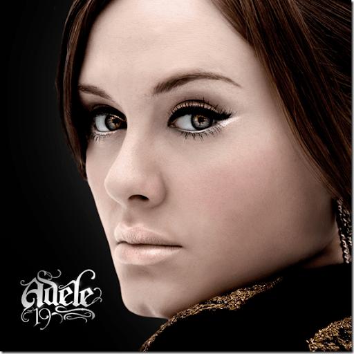 Delineado gatinho, olho azul, Adele