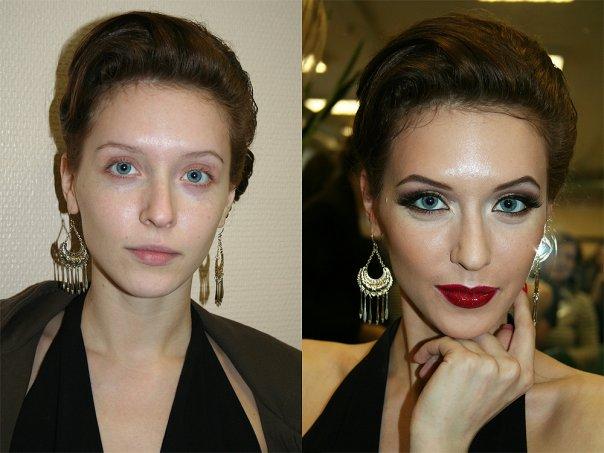makeup before after vandreev 11 - 13 Fotos de maquiagem incríveis antes e depois