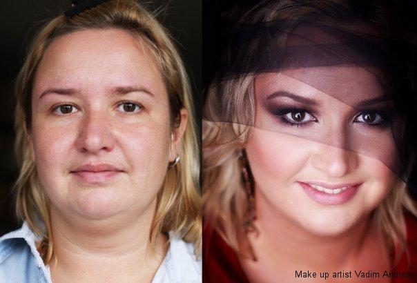 makeup before after vandreev 3 - 13 Fotos de maquiagem incríveis antes e depois