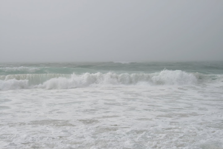The sea was angry that day