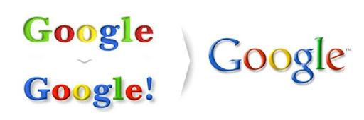 Evolução dos logos de websites
