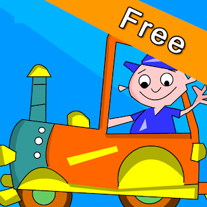 Kids Animal Game - Zoo Train