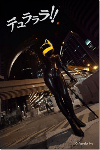 durarara!! cosplay - celty sturluson
