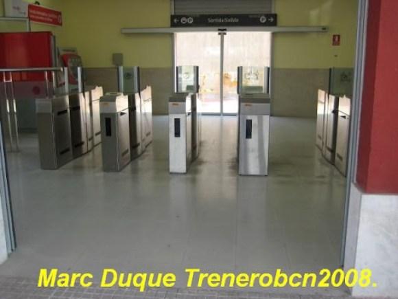 Catalonia, stazione ferroviaria dei regionali