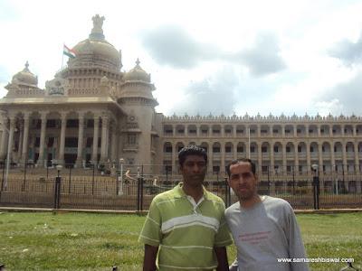 Samaresh & Udhaya @ vidhana soudha