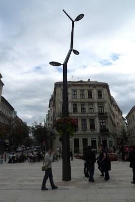 Weird shaped street light!