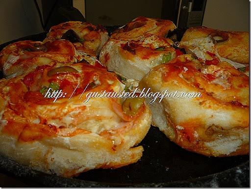 Mis deliciosos roles de pizza