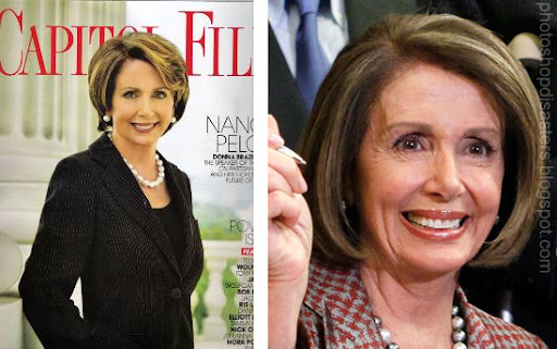 Nancy Pelosi Photoshop