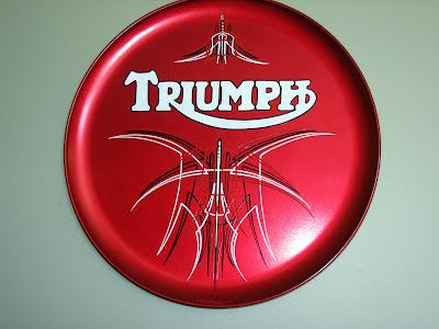 Triumph Pinstriping