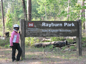 Leaving Rayburn Park
