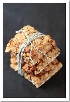 lavender oatmeal bars