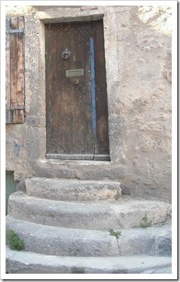 Worn old steps