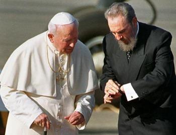 Juan Pablo II - Fidel Castro