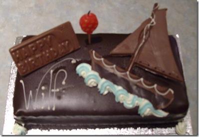 wal birthday cake