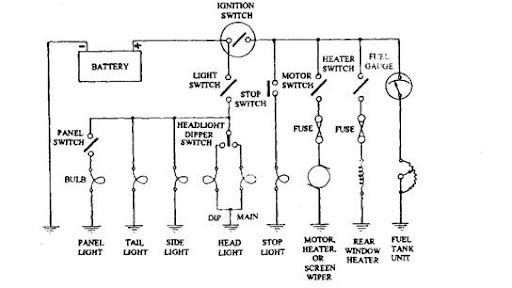 Abus Cable Wiring Diagram Vehicle Circuits And Systems Automobile