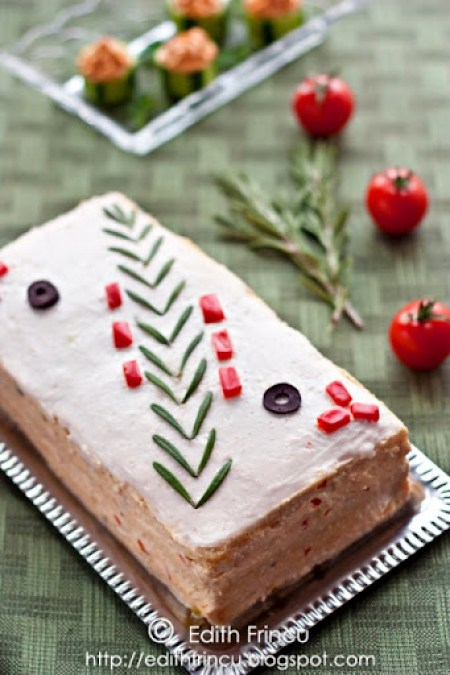tort aperitiv cu icre