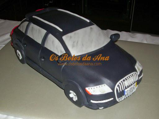 Bolo artistico Audi Q7 Bolo 3D Audi 3D Cake Sculped Cake