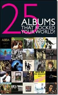 livro 25 álbuns rocked the world