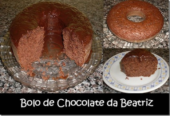 Bolo de Chocolate - Beatriz 4