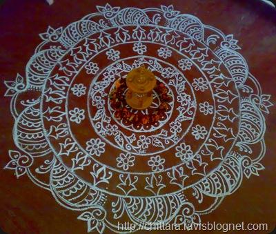 Happy Ugadi Rangoli Chittara Rangoli Pattern Designs for