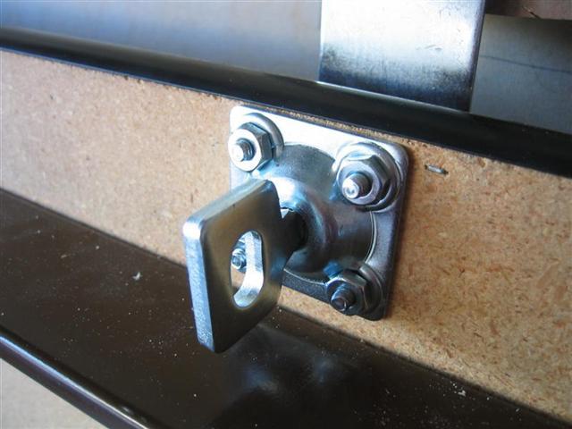Folding Workbench - Hasp