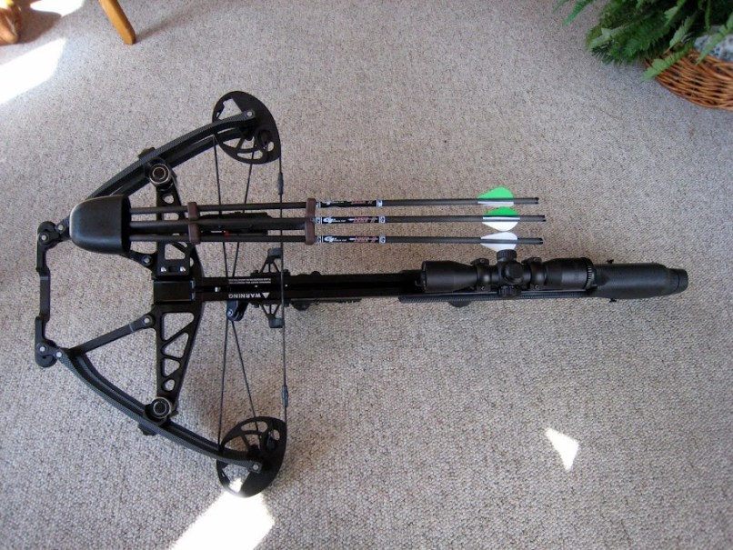 Top Of Bow Mounted Quiver Without Drilling