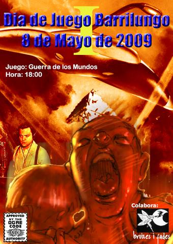 Cartel Día de Juego Barrilungo Mayo 09