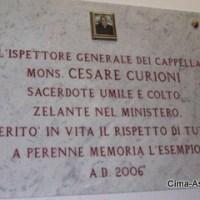 Cesare Curioni, il Monsignore di Asso famoso nel mondo