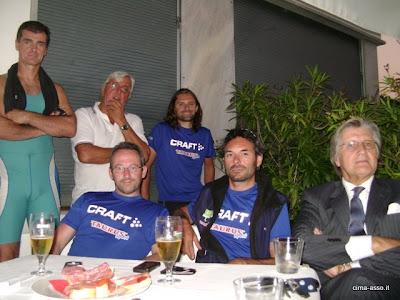I Flaghéé alla Canottieri Lario di Como