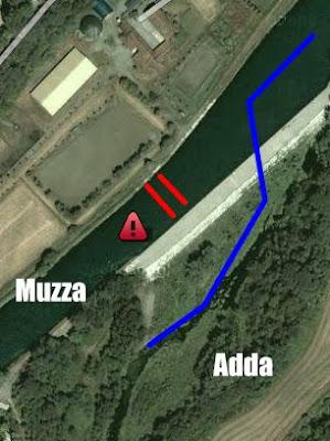 Il tracimatoio di Cassano d'Adda