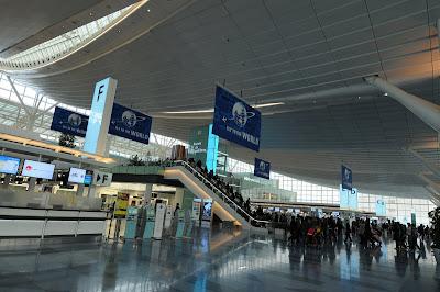 叛徒在火星的日子: 東京羽田機場國際線新航廈