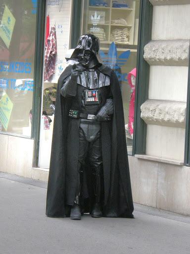 Darth Vader, Budapest, Hungary, Star Wars