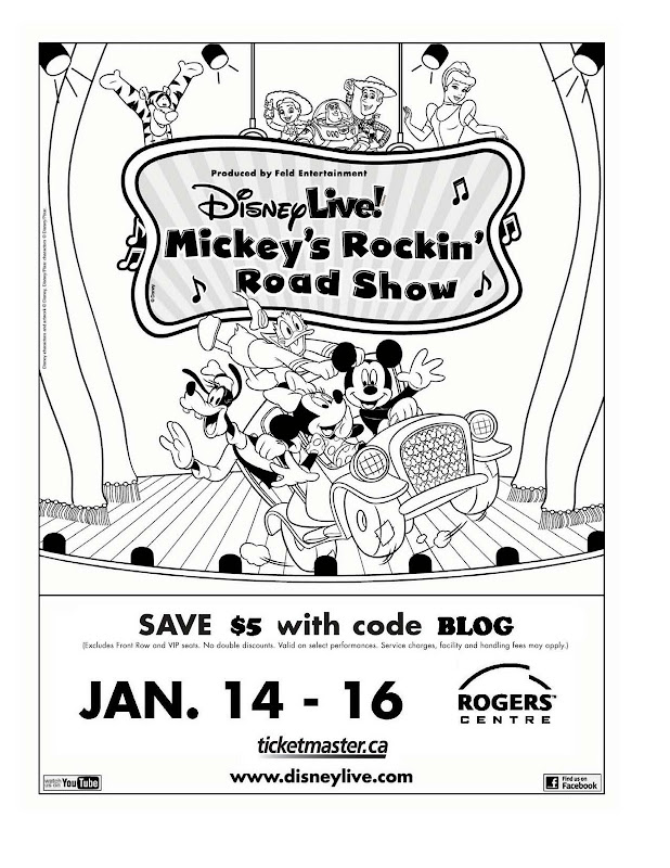 Mickey's Rockin' Road Show is coming to a city near you